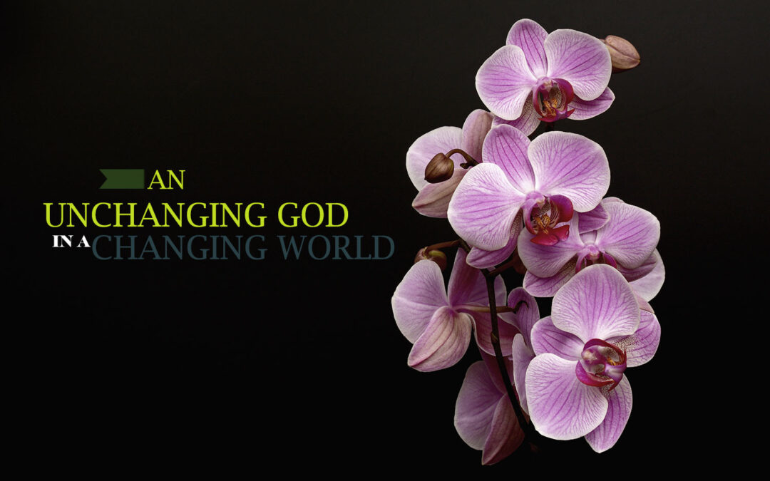 THE UNCHANGING GOD